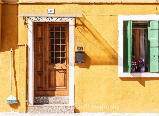 Burano house facade