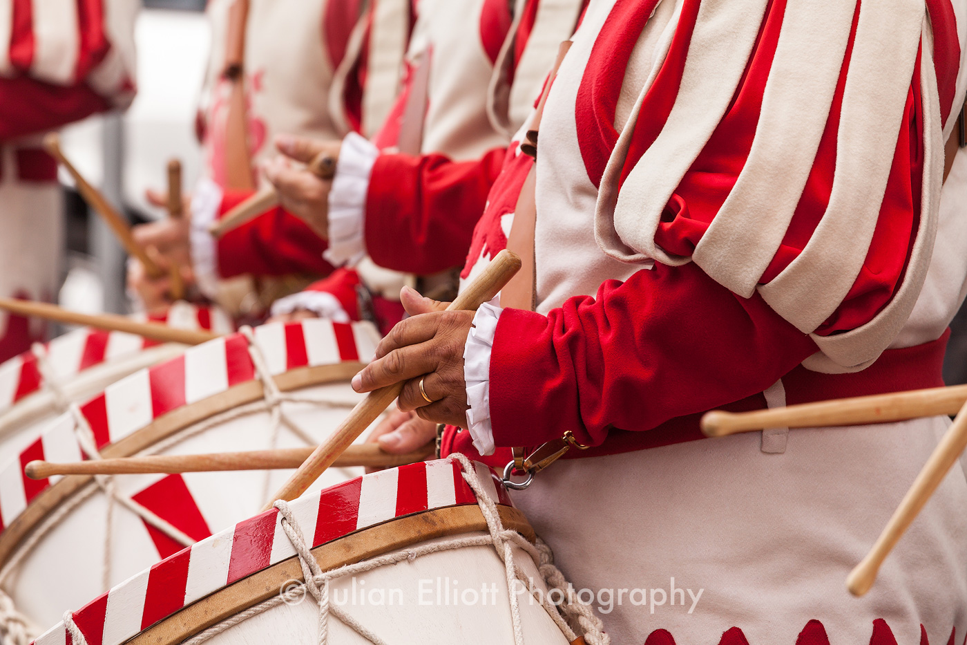 Calcio Storico drummers