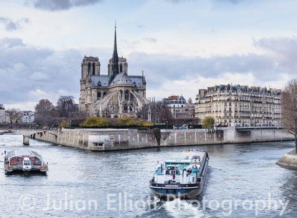 Notre Dame de Paris cathedral, Paris, France.