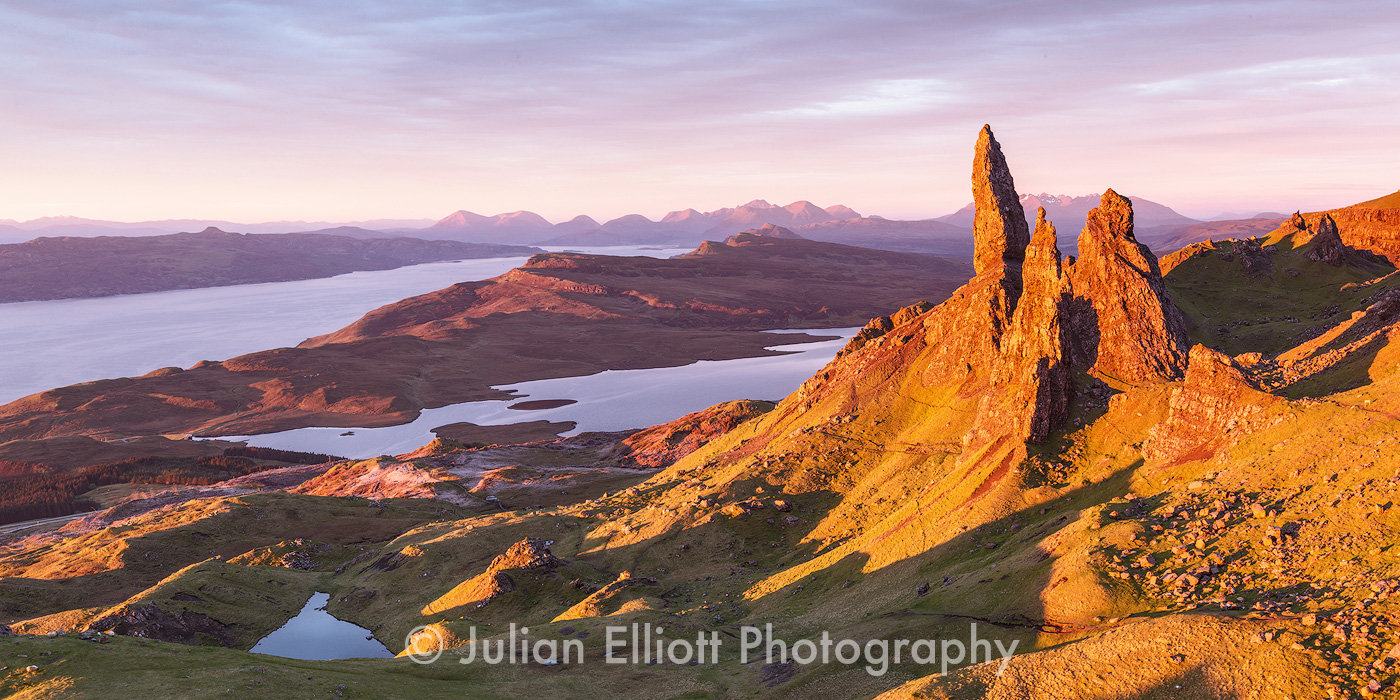 The Old Man of Storr on the Isle of Skye, Inner Hebrides, Scotland, UK.