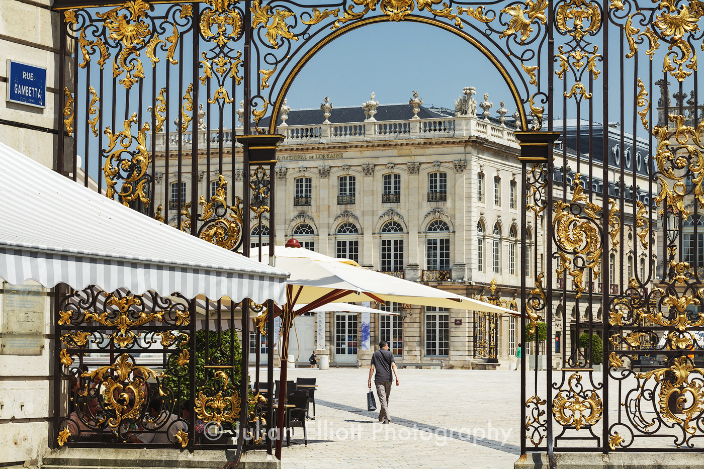 Place Stanislas in Nancy, France.