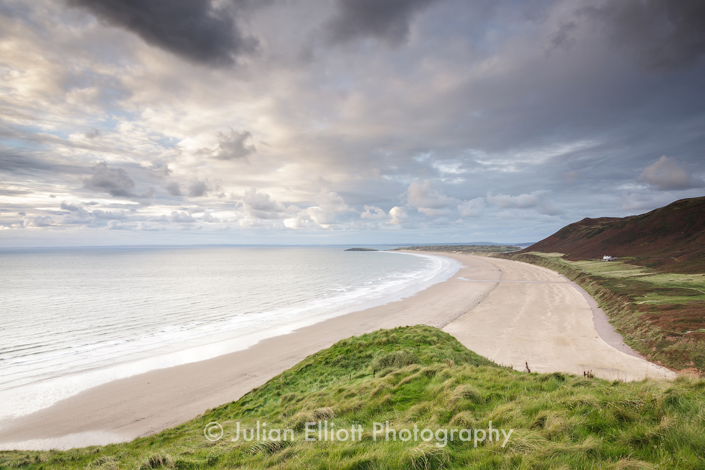 Rhossili Bay on the Gower Peninsula