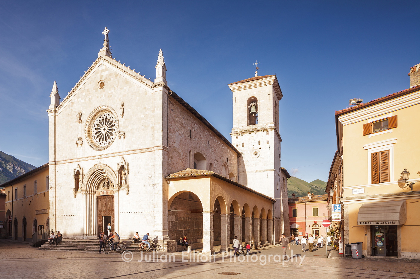 San Benedict in Piazza San Benedetto.