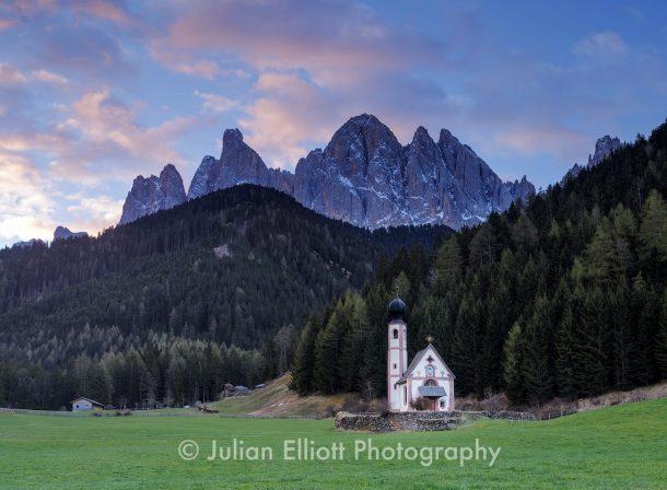 St Johnann Val di Funes Dolomites