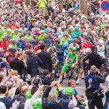 103rd edition of Tour de France, Saumur, France.