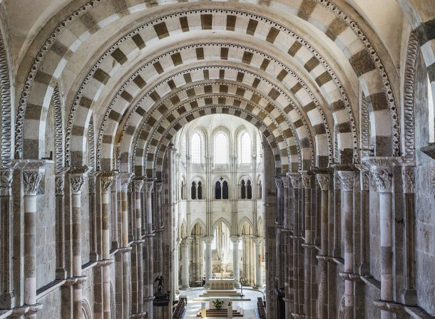 Basilique Sainte-Marie-Madeleine in Vezelay