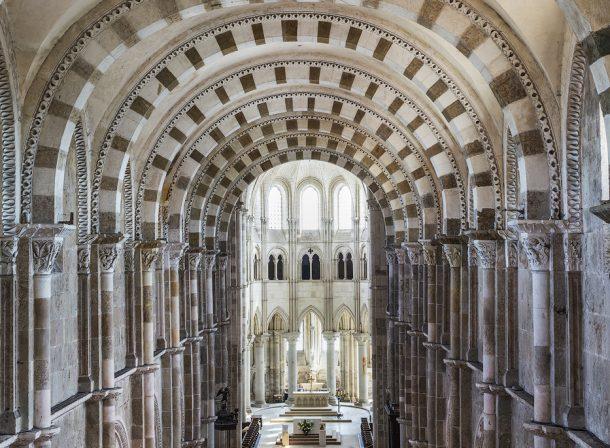 Basilique Sainte-Marie-Madeleine in Vezelay