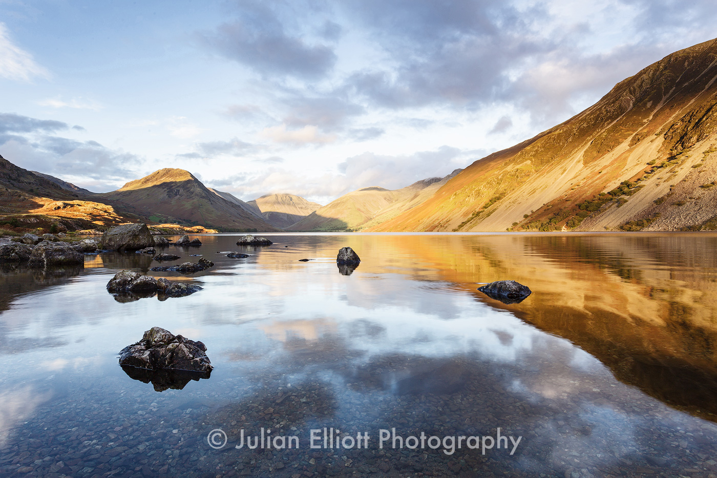 Wast Water in the Lake District national park