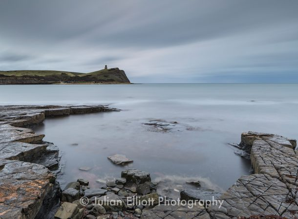 Kimmeridge Bay on the Dorset coast, UK.