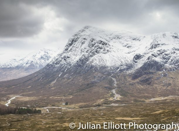 Buachaille Etive Mor in the Scottish Highlands.