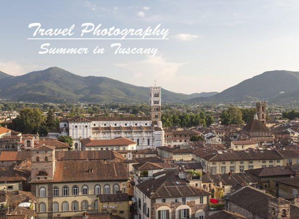 The Duomo and the old city of Lucca