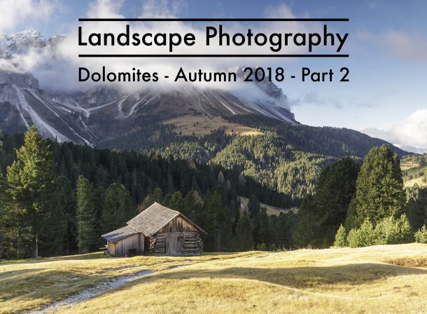Landscape Travel Photography Dolomites
