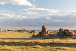 Ikh Gazriin Chuluu national park