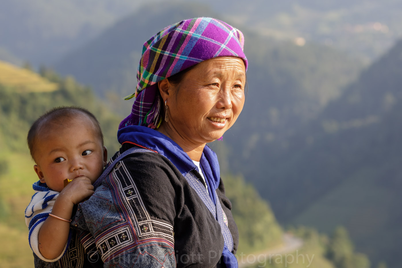 A woman from the Hmong tribe in Sa Pa, Vietnam.